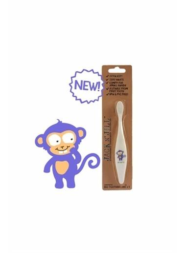 Jack N'Jill Jack N'Jill Bio Toothbrush Monkey Beyaz